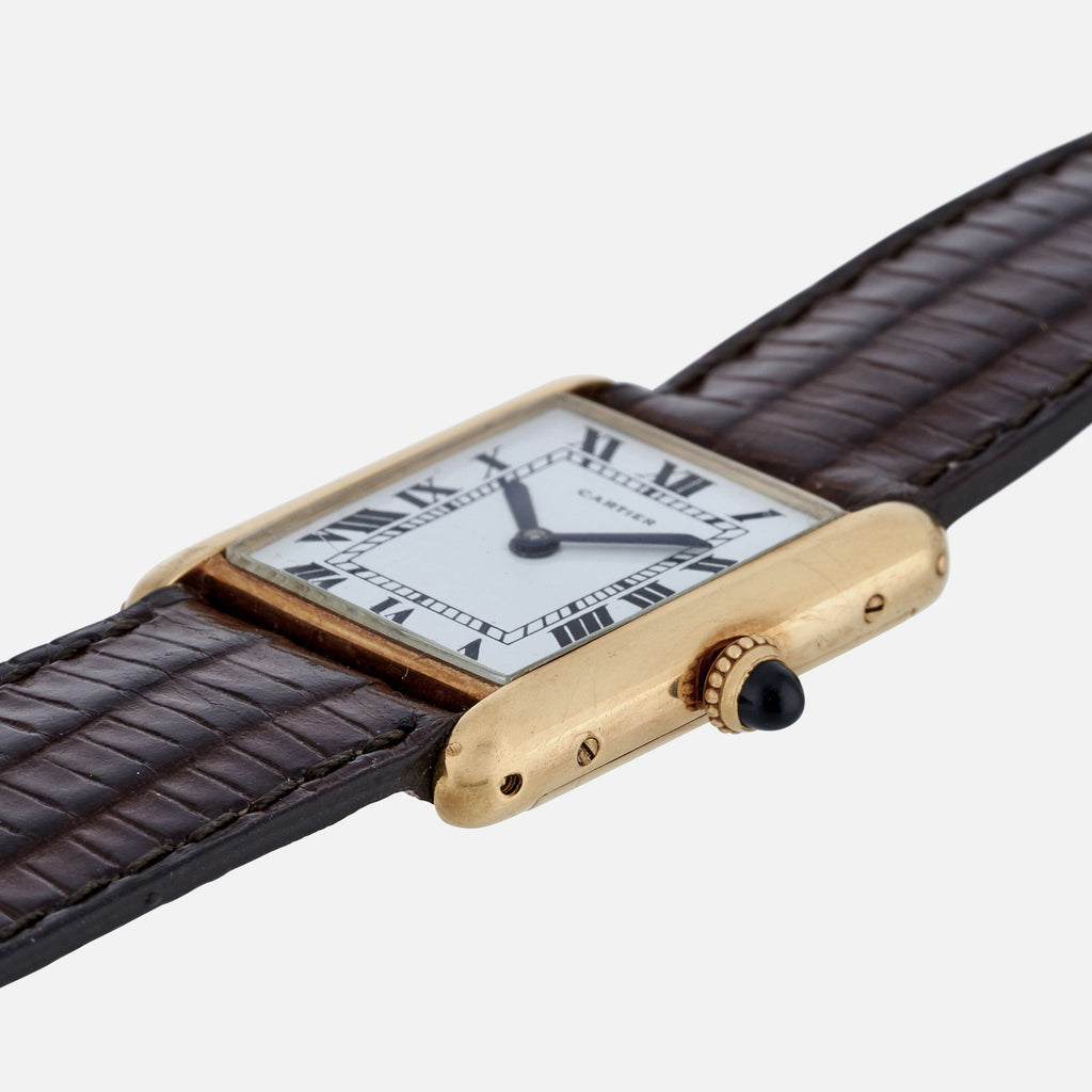 1972 Cartier Tank With Audemars Piguet Movement