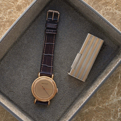 1940s Jaeger-LeCoultre In Rose Gold alternate image.