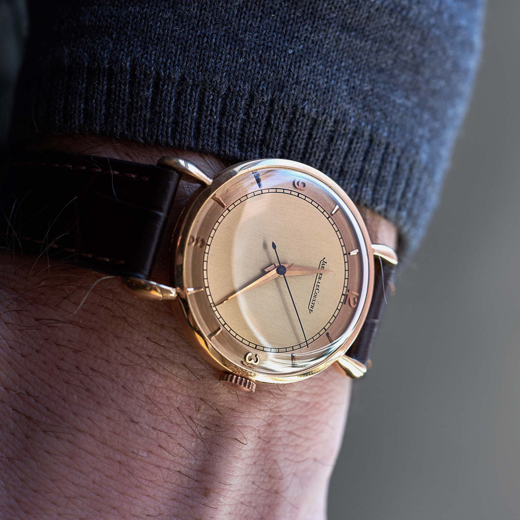 1940s Jaeger-LeCoultre In Rose Gold
