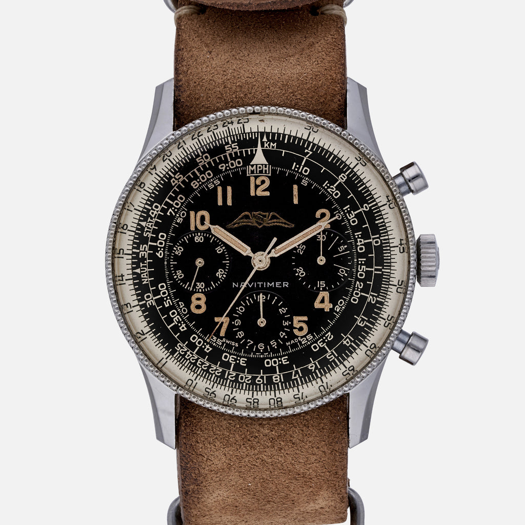 1954 Breitling Navitimer Pre 806 With Valjoux 72