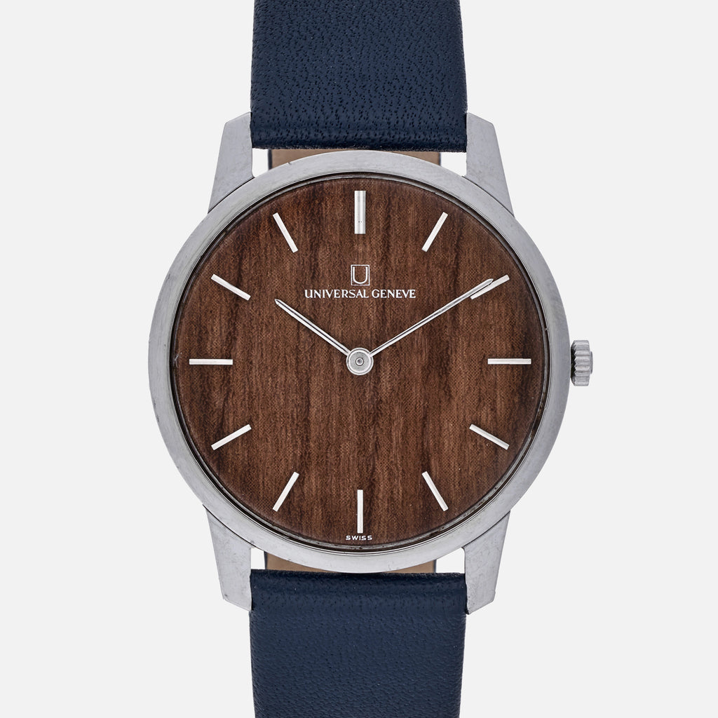 1960s Universal Genève With Wood Dial