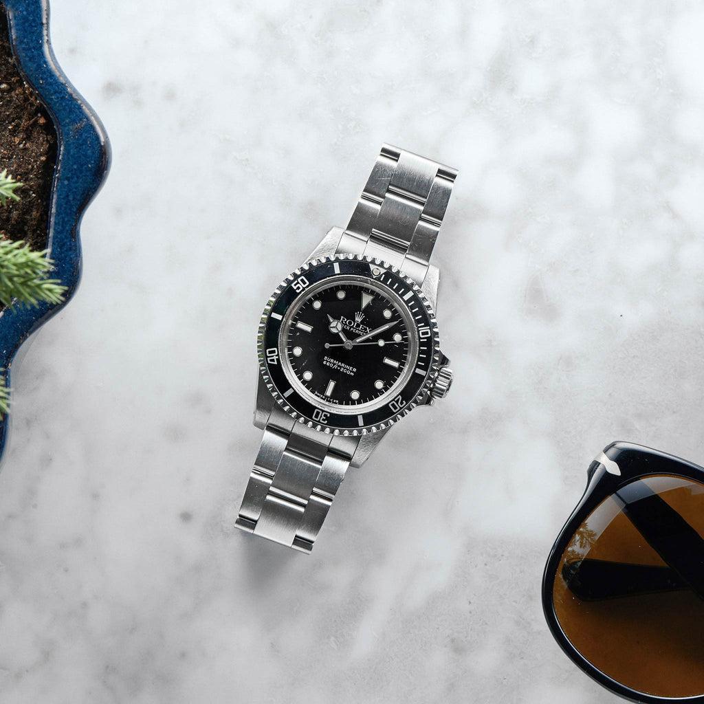 1989 Rolex Submariner Reference 5513 W/ Box & Papers