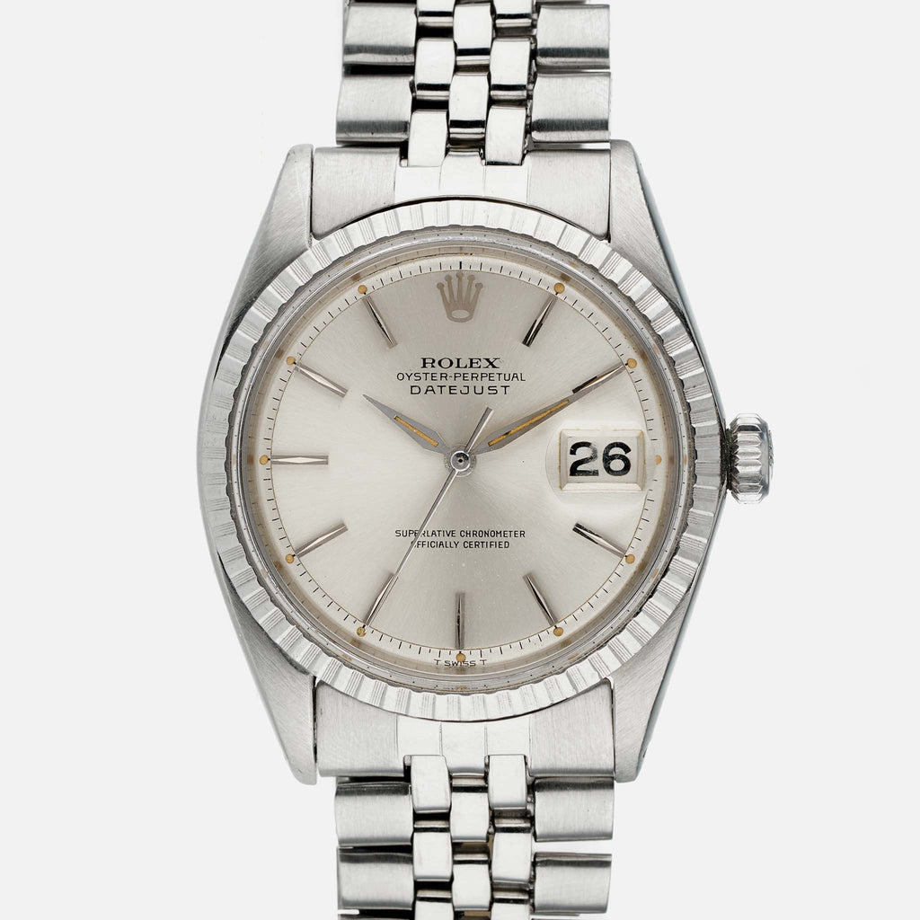 1964 Rolex Datejust Reference 1603 With Leaf Hands