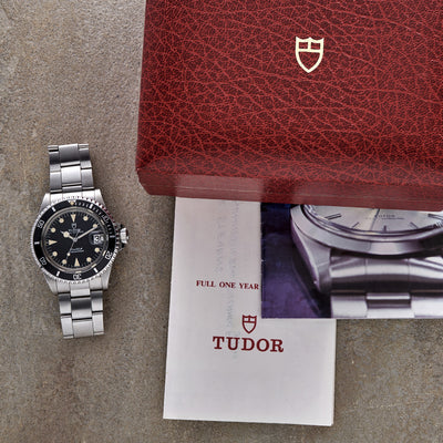 1988 Tudor Submariner Reference 76100 With Box And Papers alternate image.