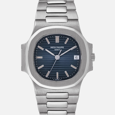 1995 Patek Philippe Nautilus Reference 3800/1 In White Gold