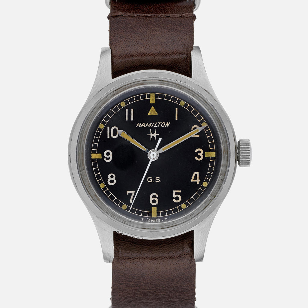 1960s Hamilton Military Watch With Tropical Dial