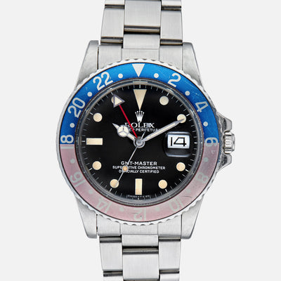 1980 Rolex GMT Master Reference 16750