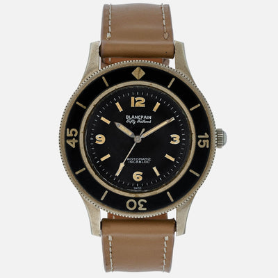 1950s Blancpain Fifty Fathoms Milspec With Bronze Alloy Case