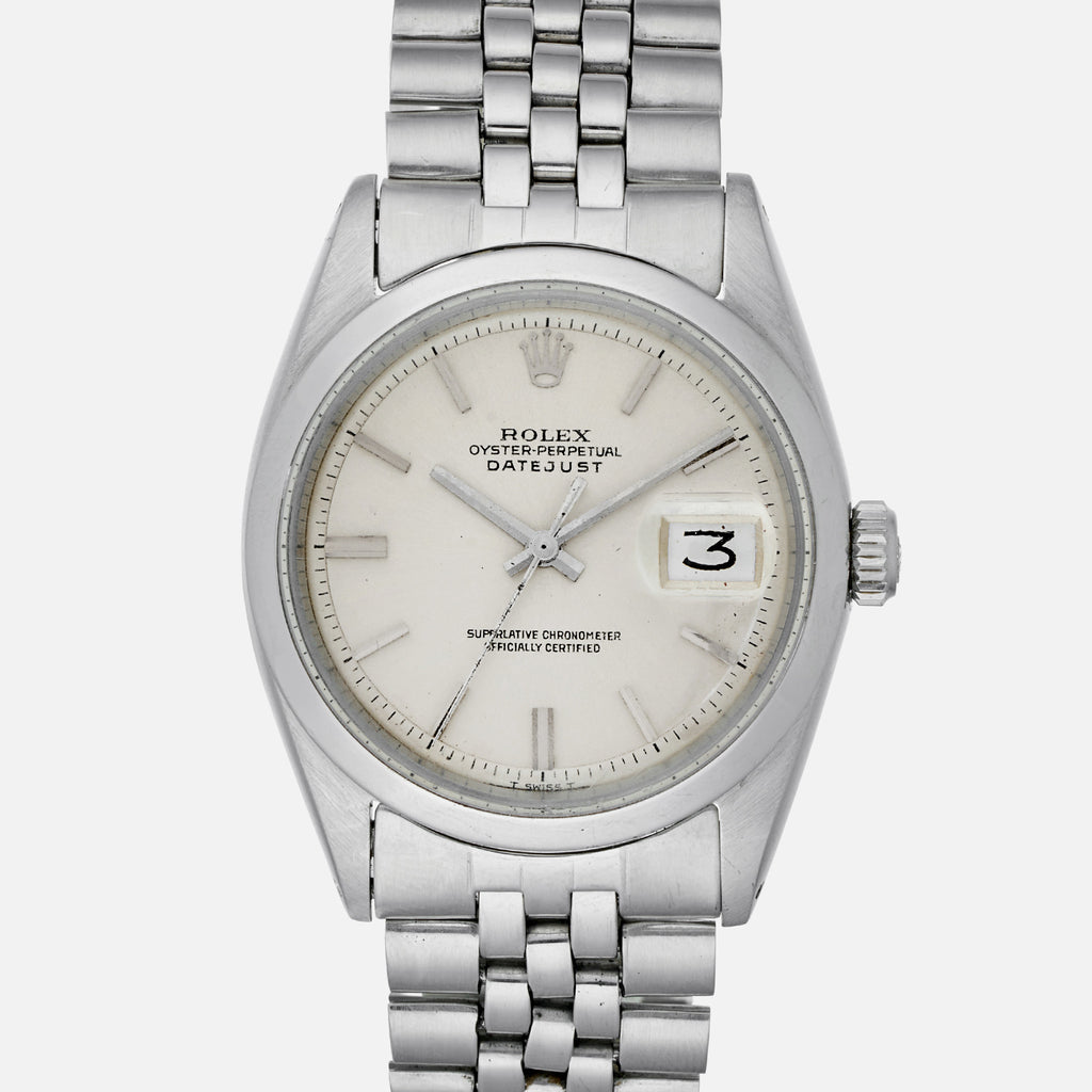 1966 Rolex Datejust Reference 1600 With Original Papers