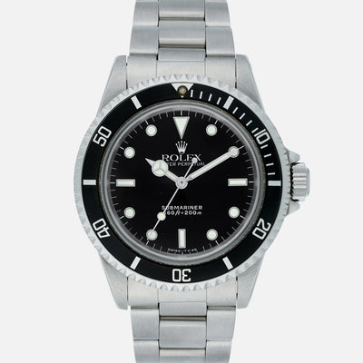 1986 Rolex Submariner Reference 5513