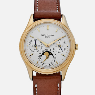 1980s Patek Philippe Reference 3940J With Papers