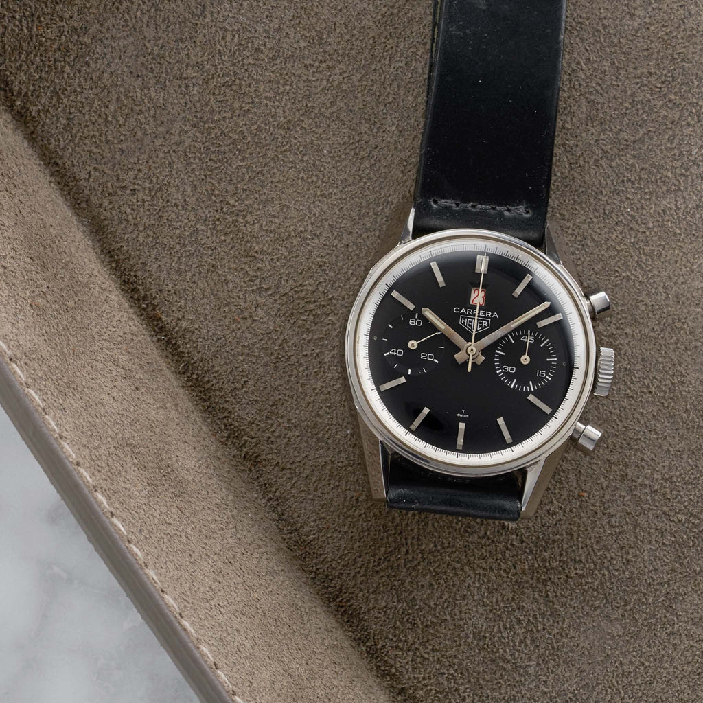 1960s Heuer Carrera 'Dato 12' Reference 3147N