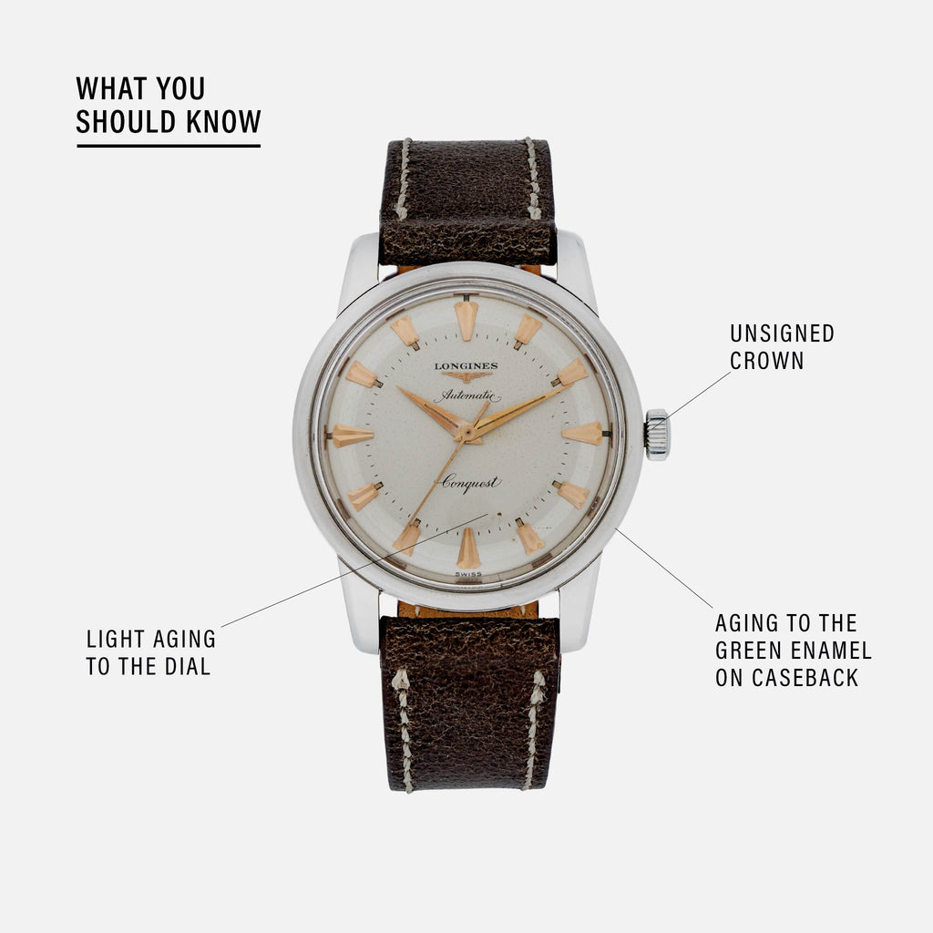 1950s Longines Conquest Reference 9000-9