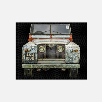 1964 Land Rover Series IIA 500-Piece Puzzle alternate image.