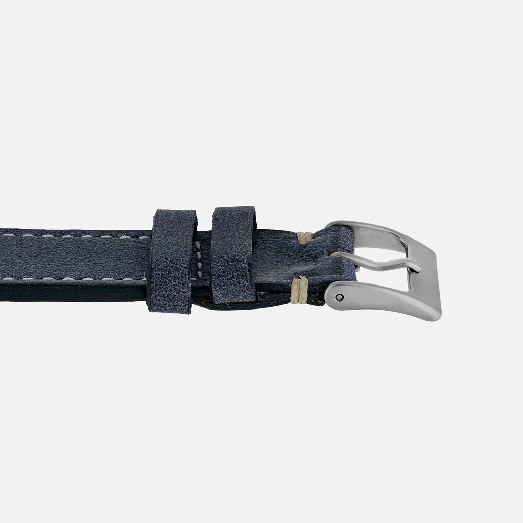 The Davenport Watch Strap In Blue