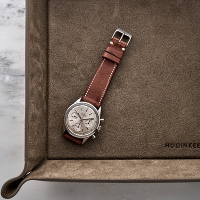 The Davenport Watch Strap In Red Clay alternate image.