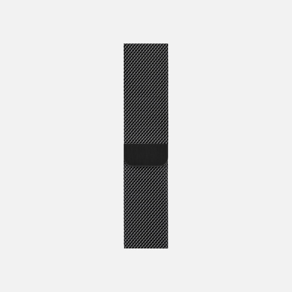 Apple Watch Space Black Stainless Steel Milanese Loop 44mm