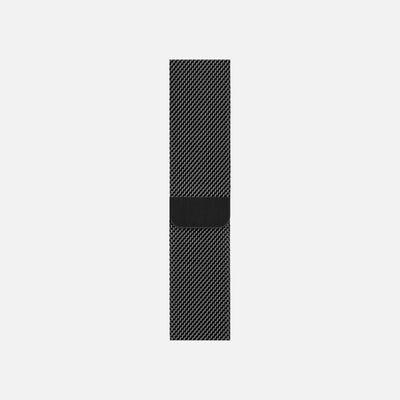 Apple Watch Space Black Stainless Steel Milanese Loop 44mm alternate image.
