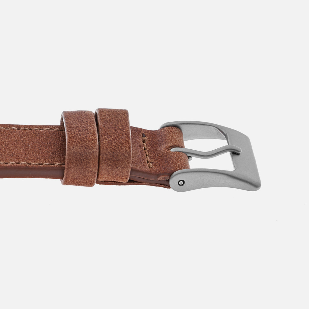 The Sedona Watch Strap In Chestnut Brown