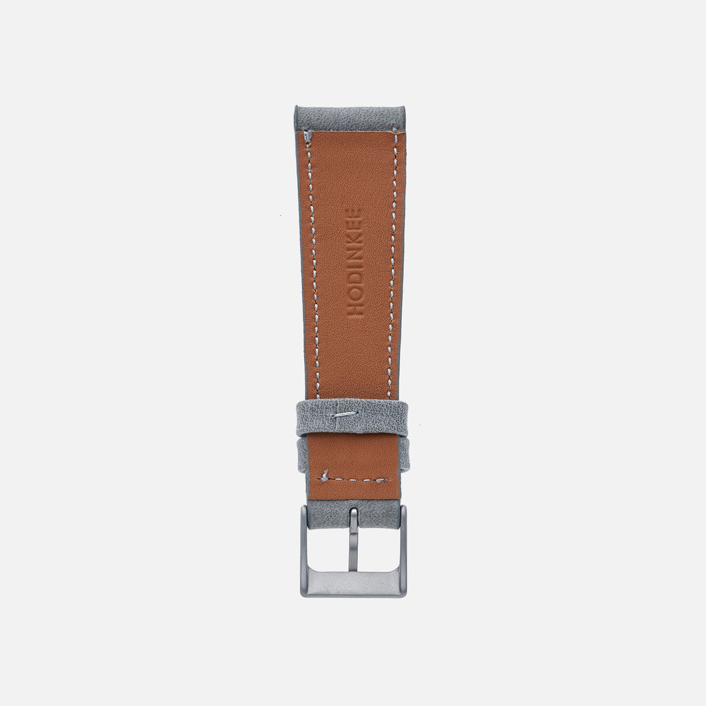 The Sedona Watch Strap In Slate Grey