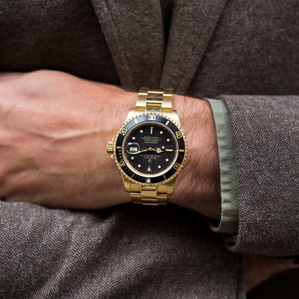 1983 Rolex Submariner Reference 16808 In Gold