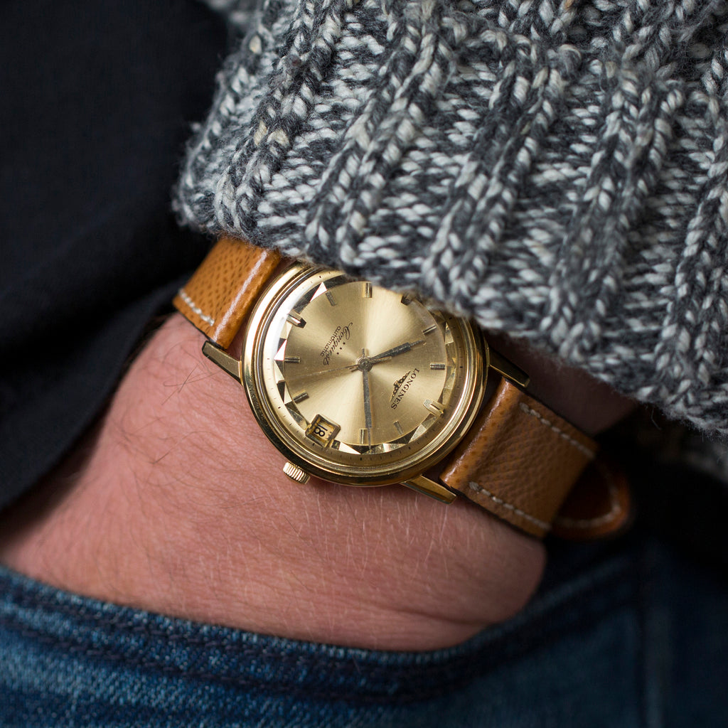 1960s Longines Conquest In Yellow Gold