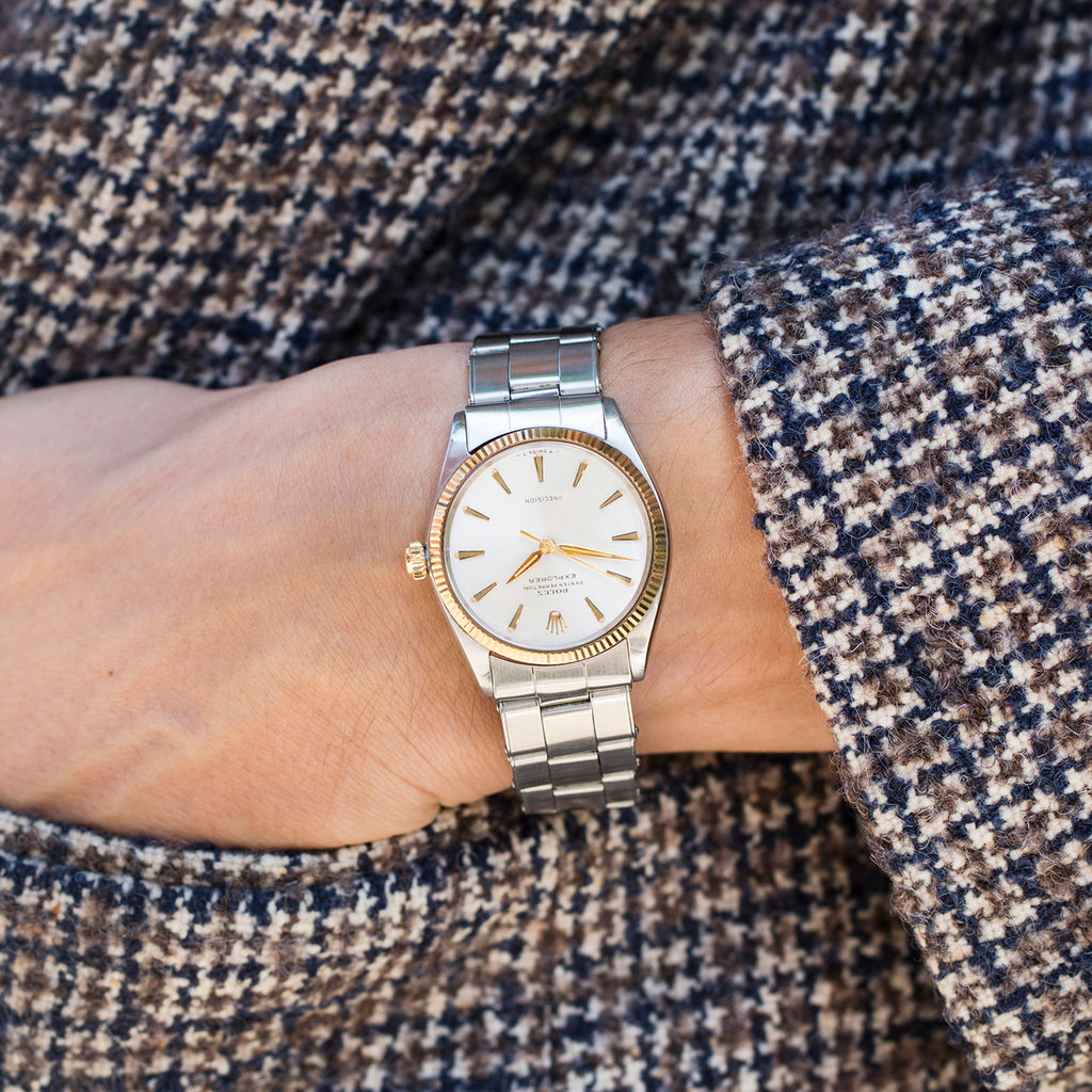 1963 Two-Tone Rolex Explorer Reference 5501