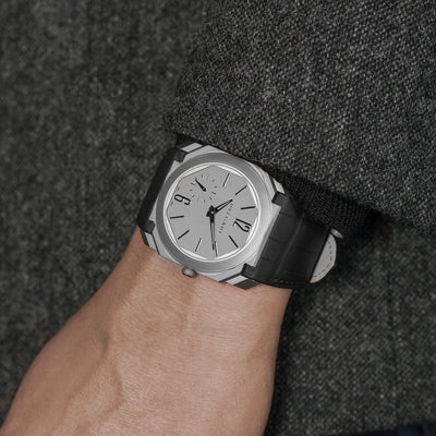 BVLGARI Octo Finissimo Automatic In Titanium With Strap alternate image.