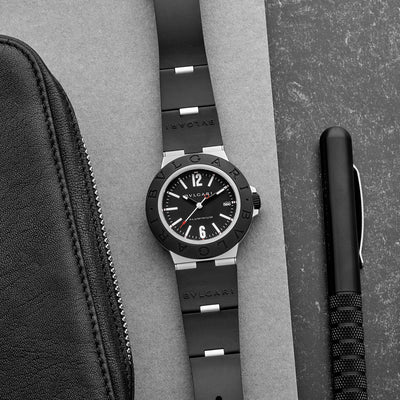 BVLGARI Aluminium Automatic With Black Dial alternate image.