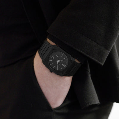 BVLGARI Octo Finissimo Automatic In Black Ceramic With Bracelet alternate image.