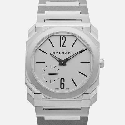 BVLGARI Octo Finissimo Automatic In Steel With Bracelet
