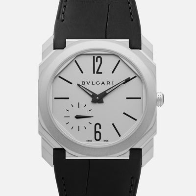BVLGARI Octo Finissimo Automatic In Steel With Strap