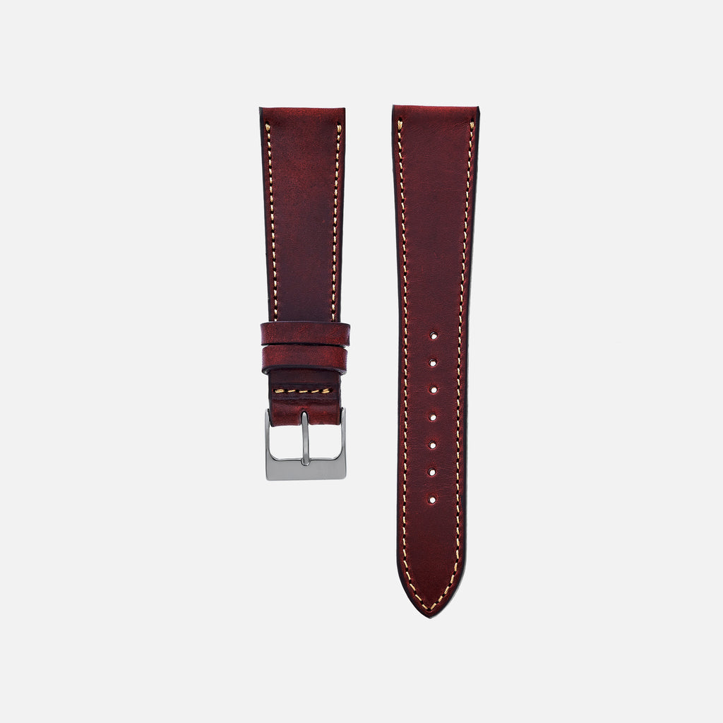 The Barrett Watch Strap In Burgundy