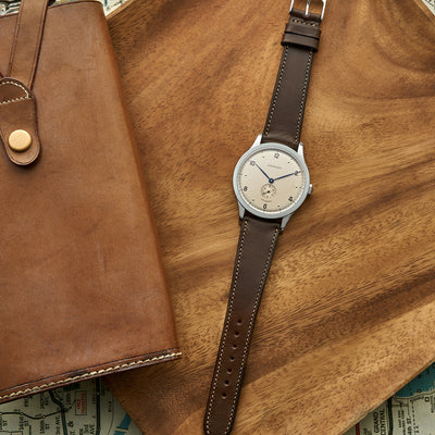 The Barrett Watch Strap In Dark Brown alternate image.