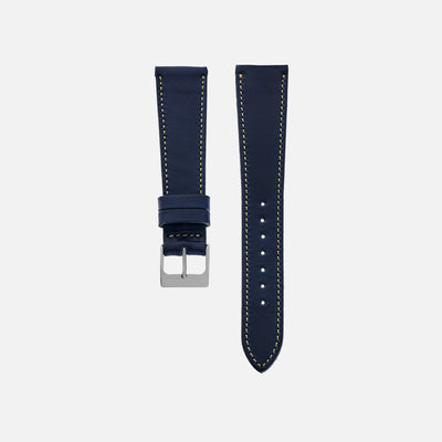 The Barrett Watch Strap In Navy Blue