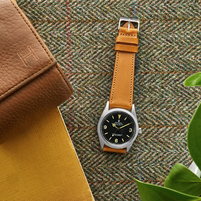 The Barrett Watch Strap In Yellow alternate image.
