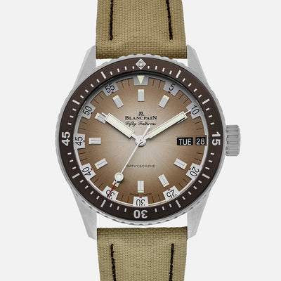 Blancpain Fifty Fathoms Bathyscaphe Day Date Desert Limited Edition