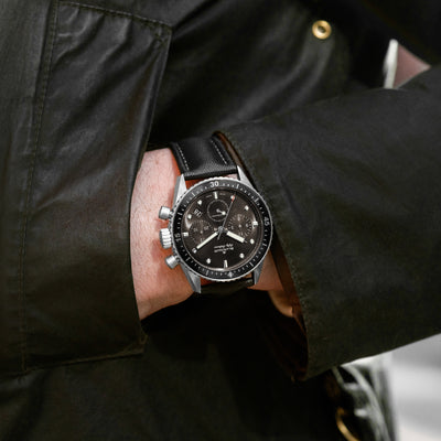 Blancpain Fifty Fathoms Bathyscaphe Flyback Chronograph 43mm Grey Dial In Steel alternate image.