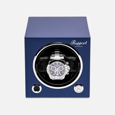 Evo Watch Winder In Admiral Blue