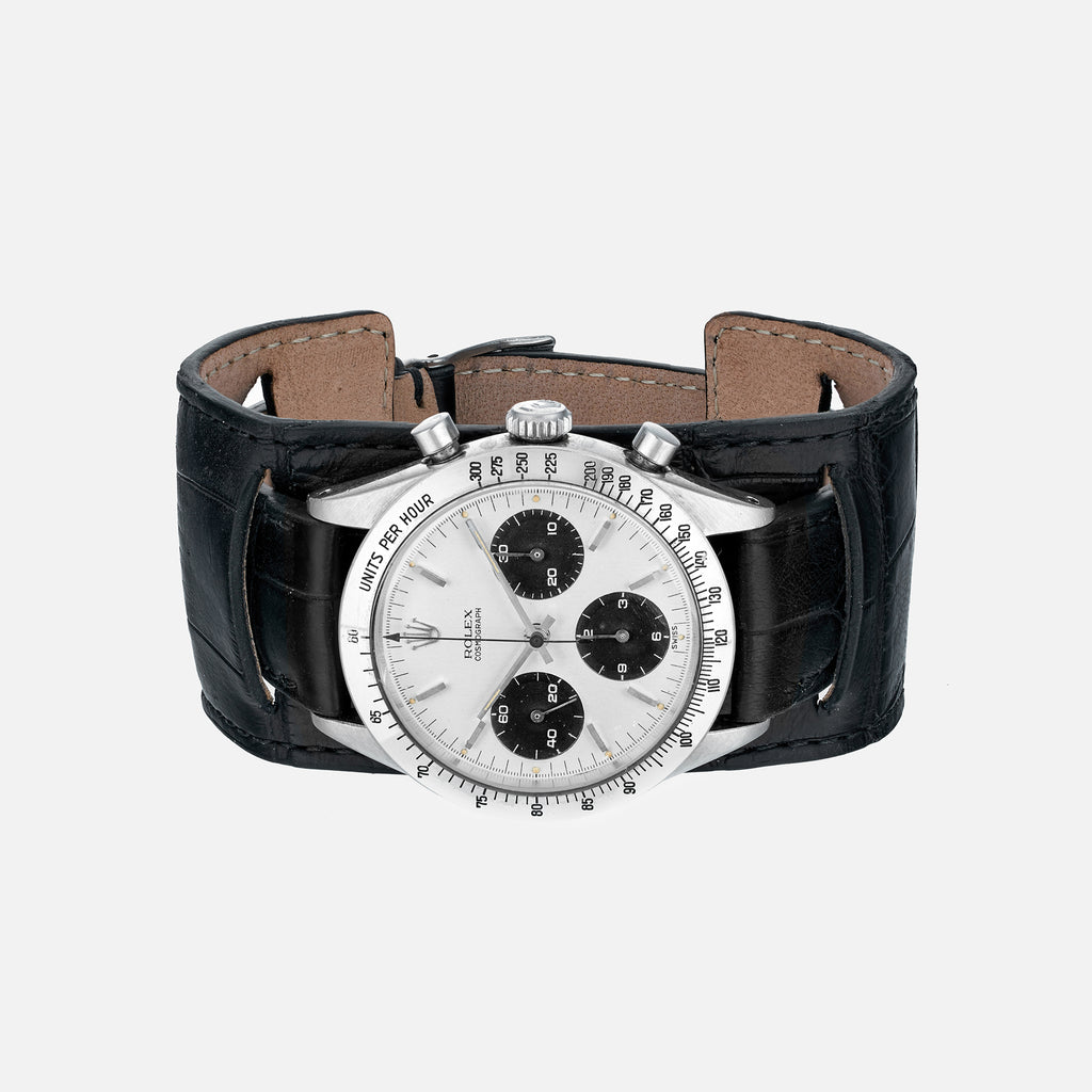 ce28edd04 The Newman Bund Watch Strap In Black Crocodile - HODINKEE Shop