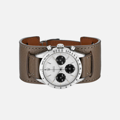 The Newman Bund Watch Strap In Taupe
