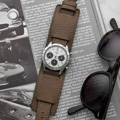 The Newman Bund Watch Strap In Taupe alternate image.