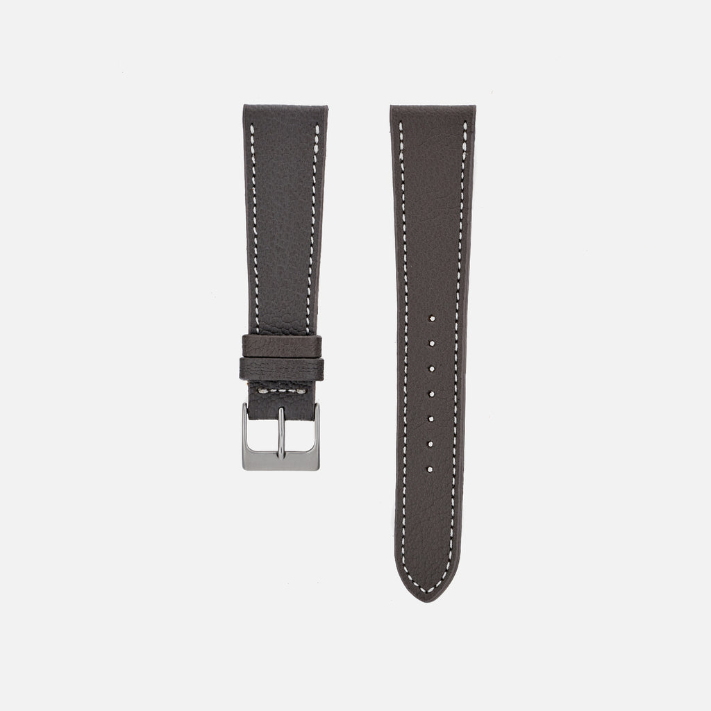 The Reid Watch Strap In Slate Grey