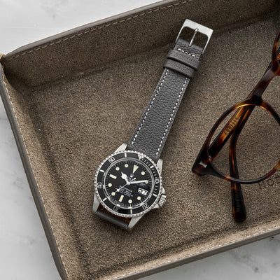 The Reid Watch Strap In Slate Grey alternate image.