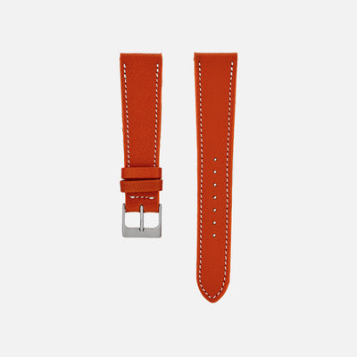 The Reid Watch Strap In Orange