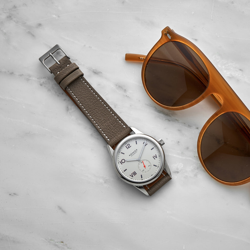 The Reid Watch Strap In Taupe