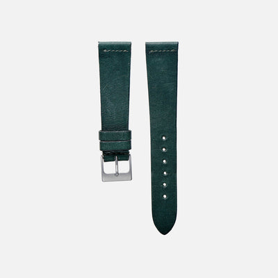 Hunter Green Calfskin Watch Strap