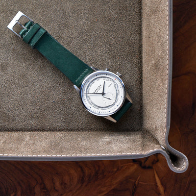Hunter Green Calfskin Watch Strap alternate image.
