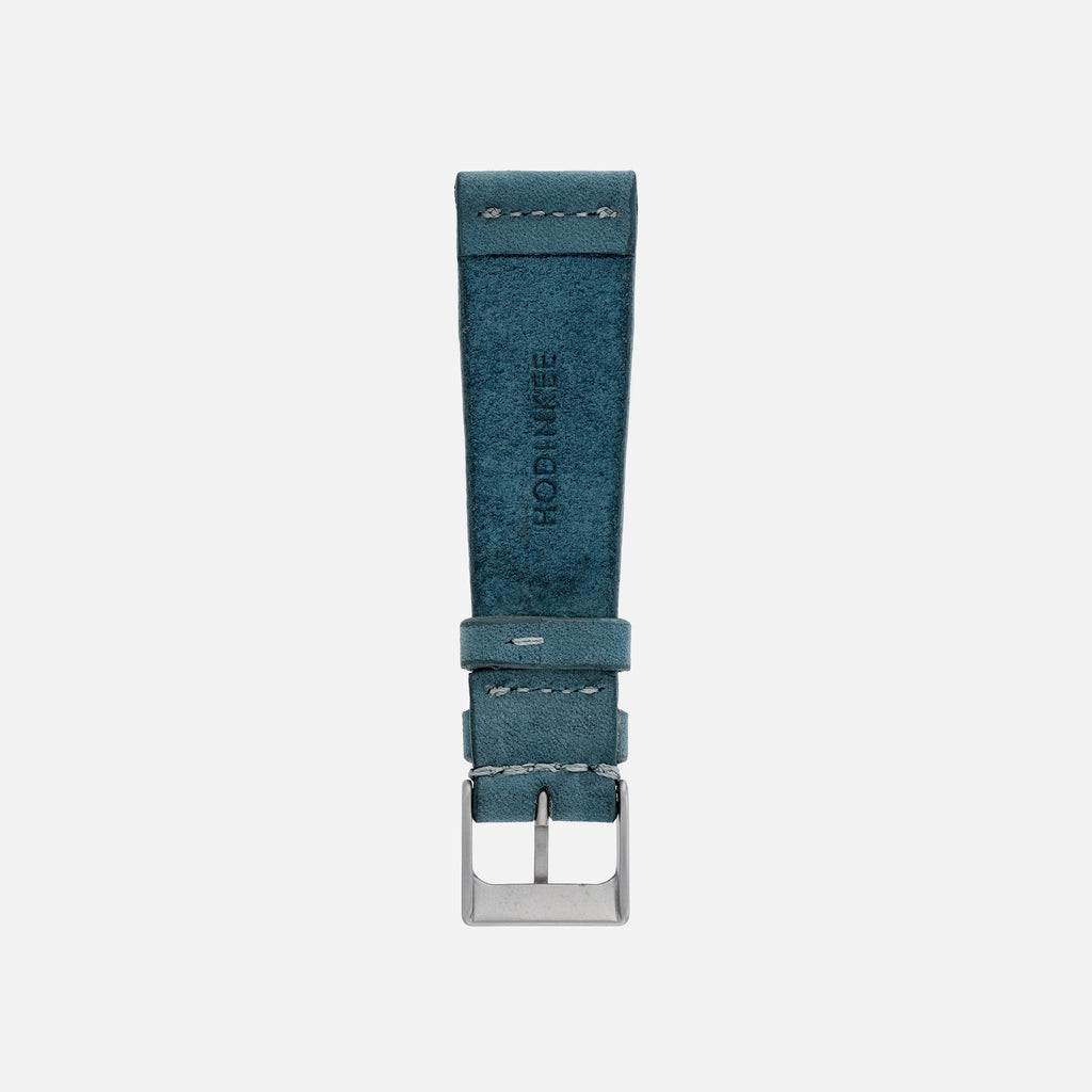 Sea Blue Calfskin Watch Strap