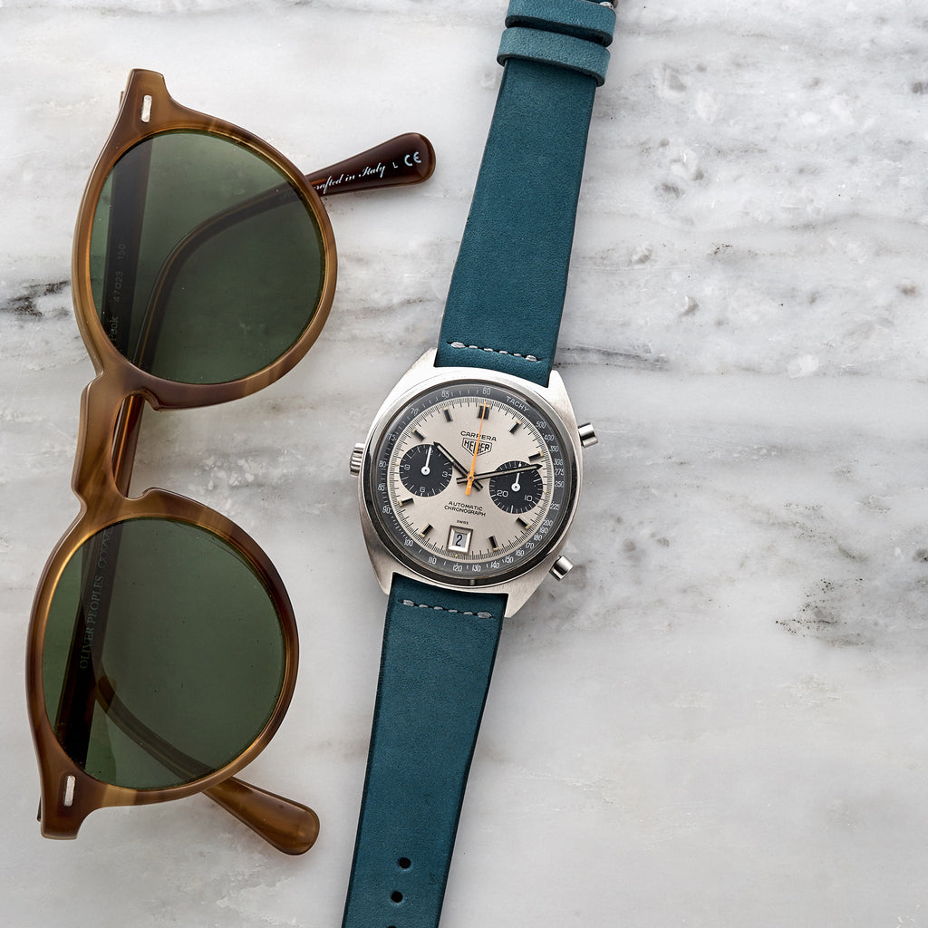 Sea Blue Calfskin Watch Strap Hodinkee Shop